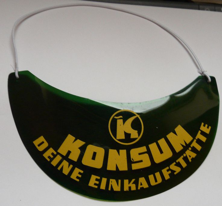 Sonnenschirm Sonnenschutz Konsum   DDR Werbung, DDR - Museum-Tutow