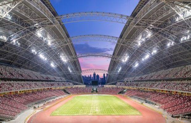 Singapore Sports Hub Stadiums Pinterest Singapore