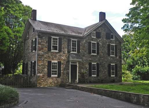 Slide 10 Of 13 Pursley S Ferry House Originally Served As A Ferry Stop For Shipments Of Iron Ore Down The D Colonial House Stone Houses Different House Styles