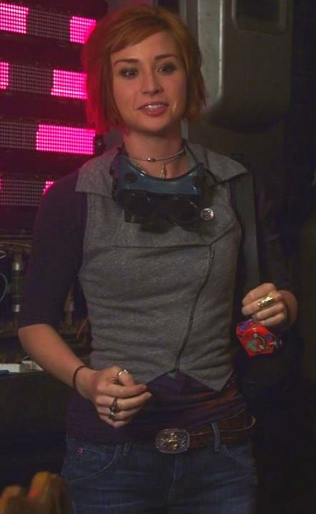 Warehouse 13 - Claudia Donovan. I may have to make this vest at some point