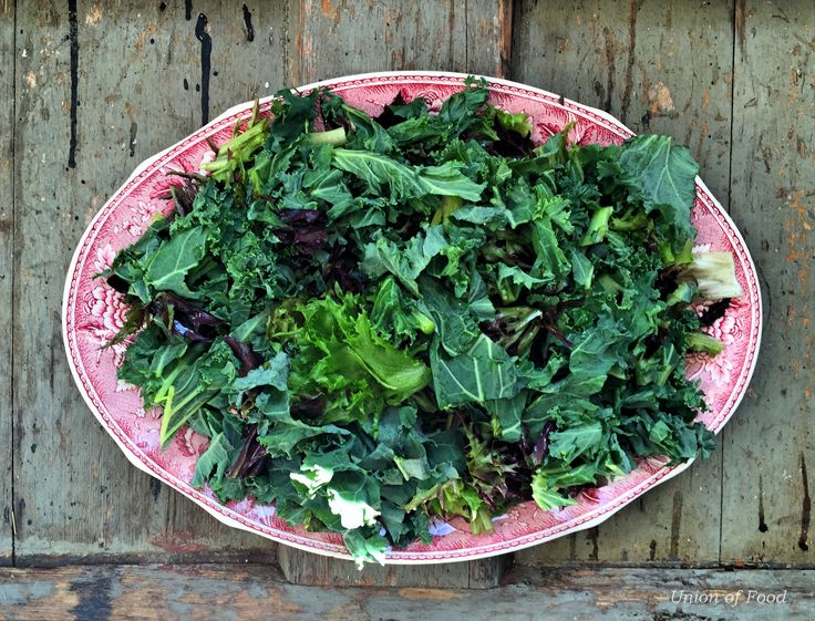 Mixed Kale Greens on www.unionoffood.com