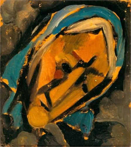 Head  - Amadeo de Souza-Cardoso  1915, Cubism