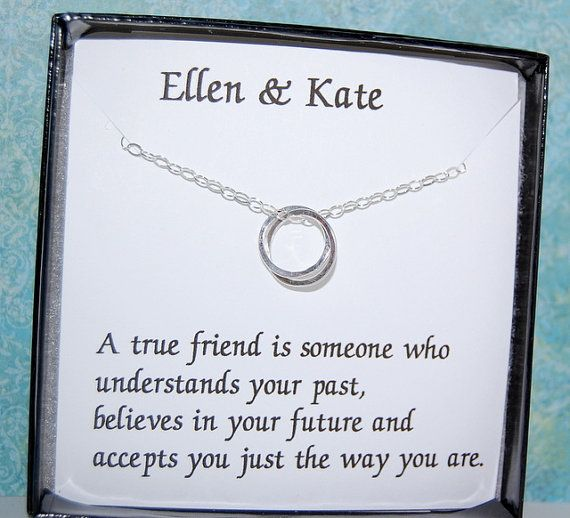 BEST FRIEND Necklace Bridesmaid Gift Maid of by SoBlessedDesigns, $39.00