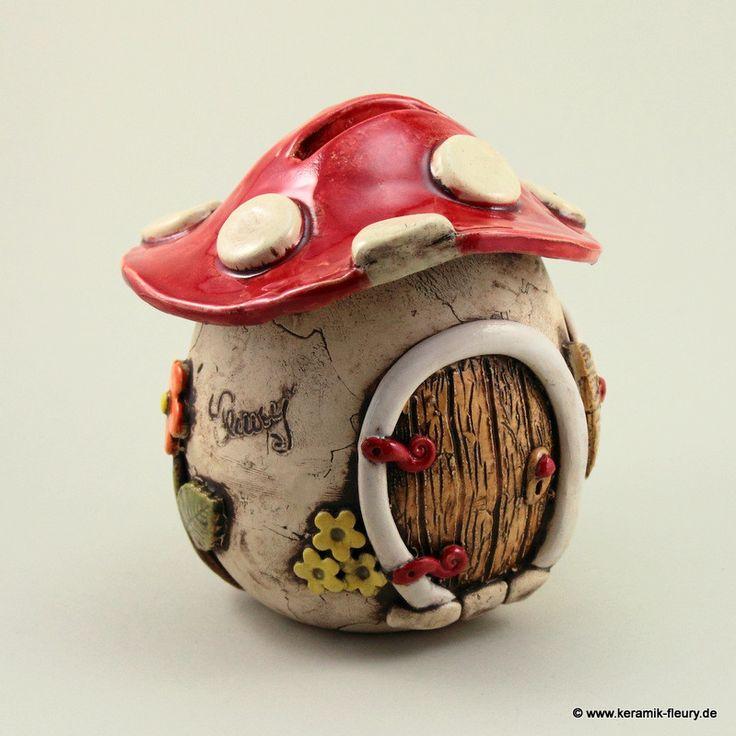 Simple Keramik Spardosen Kreative Keramik f r Haus und Garten