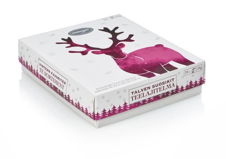 Nordqvist Winter Favourites tea box.