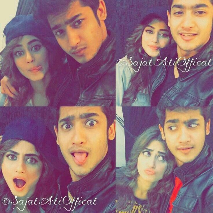 Sajal Ali wd her brother | Lollywood in 2019 | Sajal ali, Sajjal ali