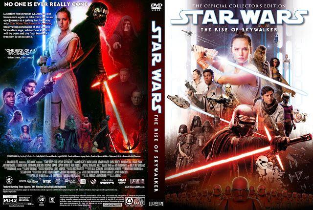 Star Wars Episode Ix The Rise Of Skywalker Dvd Cover In 2020 Dvd Covers Star Wars Skywalker