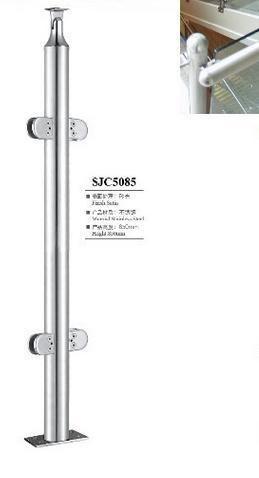 をfreeshipping 850ミリメートルSJC5085階段アームレスト201ステンレス鋼ガードレール手すり起毛固体小さなクロスバー鋼線