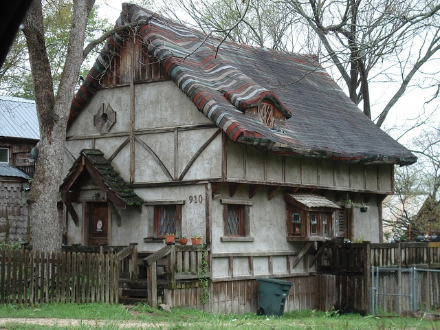 The Storybook House in Huntsville, Texas
