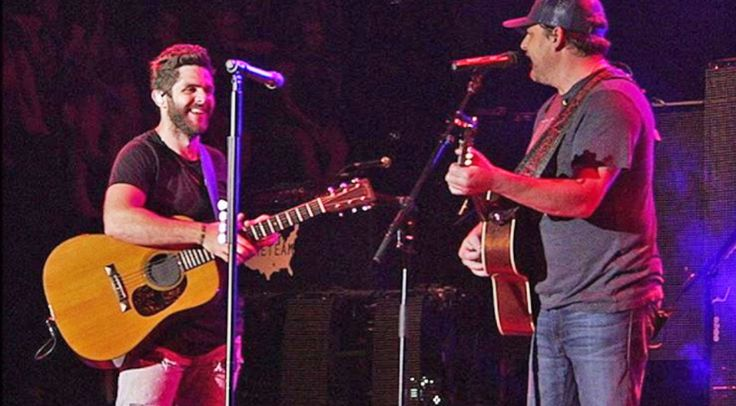 Country Music Lyrics - Quotes - Songs Thomas rhett - Thomas Rhett Invites Father Rhett Akins Onstage For Killer Duet Of 'Parking Lot Party' - Youtube Music Videos http://countryrebel.com/blogs/videos/rhett-akins-joins-his-son-thomas-rhett-onstage-for-duet-of-parking-lot-party