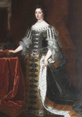 Queen Anne of England (late seventeenth century)