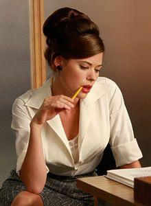 "Peyton List as Jane in ""Mad Men"""