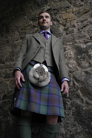 Nicolson Tweed Kilt Hire Outfit - All - Hire