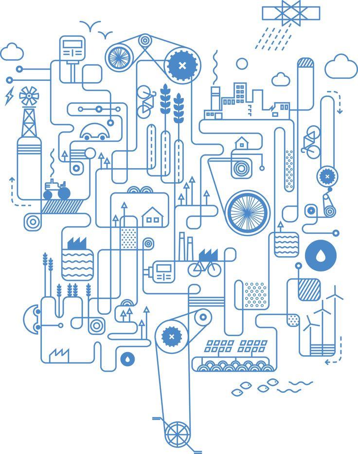 Rube Goldberg-esque energy contraption … energy-culture