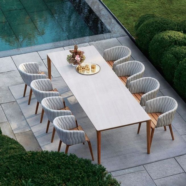Modern Outdoor Dining, Garden Dining Tables
