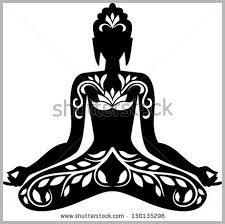 silhouette buddha - Google zoeken