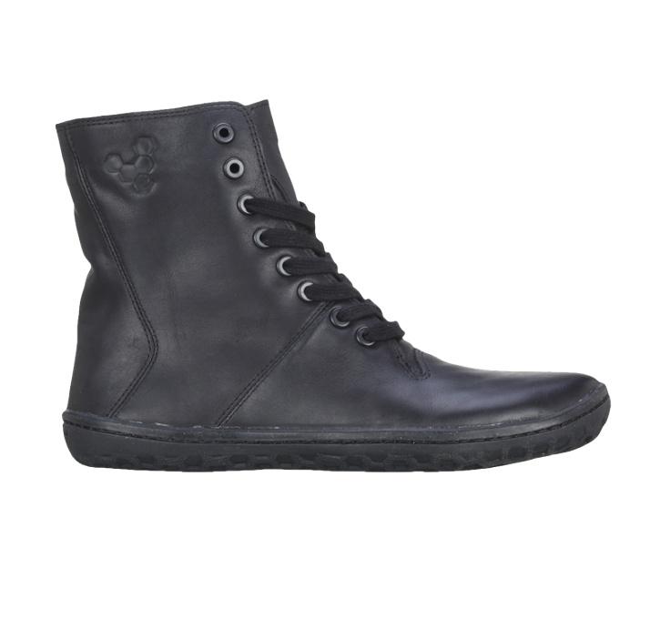 VIVOBAREFOOT   The original barefoot shoe   Barefoot Running   Barefoot Shoes   Boxing Boot   Boxing Boot Pull Up Leather Black