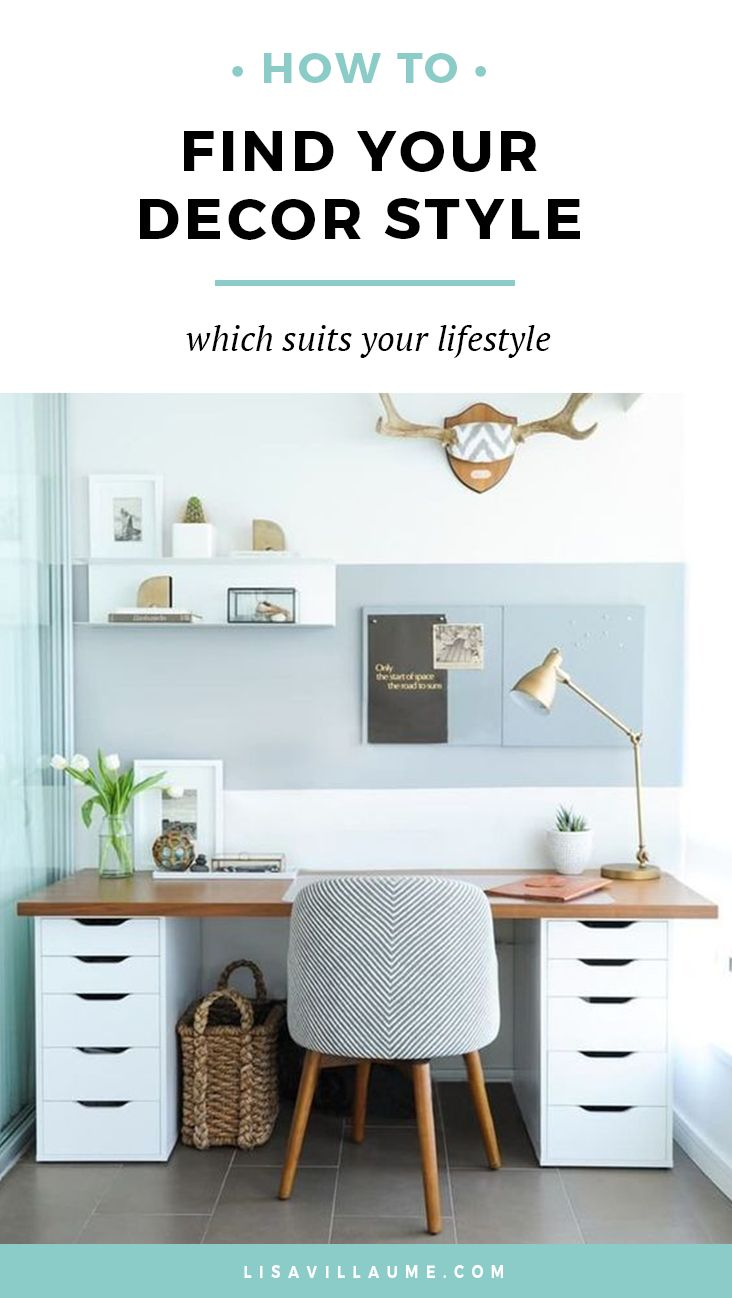 Confused about your decor style or don't know what that even is? In this blog post I share the exact formula I used on how to find your decor style.