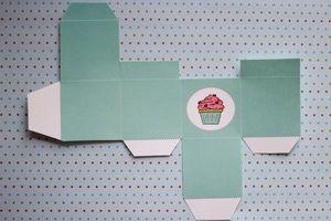Caja imprimible: Va a quedar así