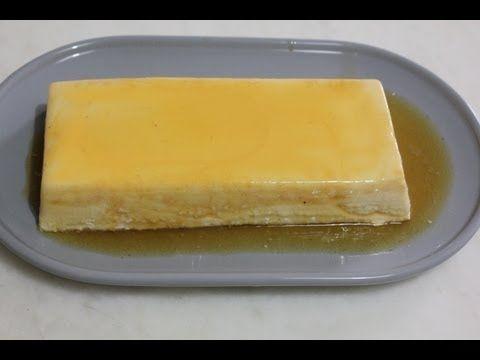Flan de queso sin horno - YouTube