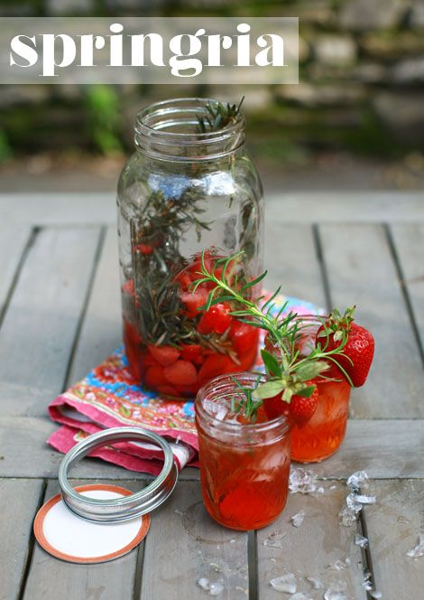 Springria...this sounds AMAZING! And so simple!: Gardenparty Springria, Strawberry Rosemary Springria, Nectar Springria, Food Blog, Springria Yum, Springria This Sounds, Drinks Up, White Bedroom, Bedroom Eat Good Food
