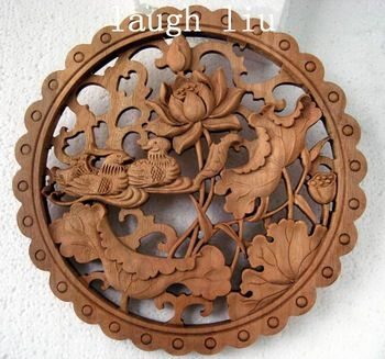 Esculturas em madeira, antigas chinesas esculpidas à mão , tapume arte surpreendente HANDWORK madeira velha Dragão cinzelado placa de parede Collectibles ESCULTURA