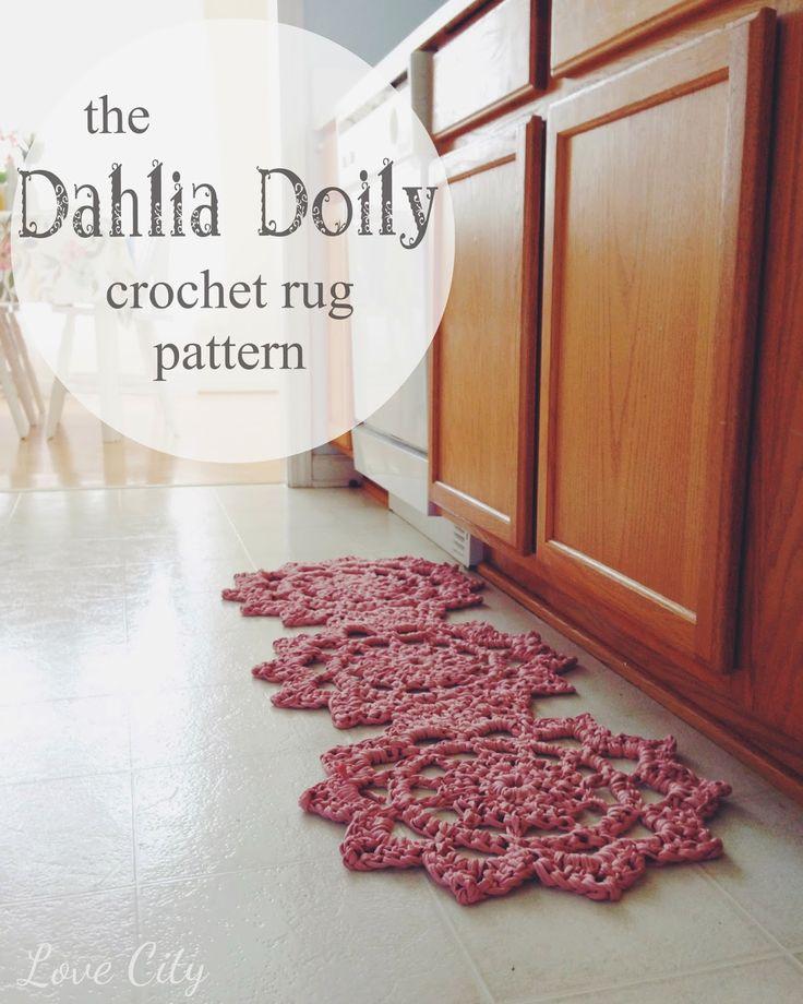 121 Best Spaghetti Yarn Images On Pinterest Crocheting Doilies