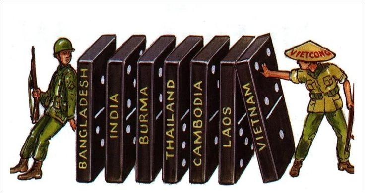 Domino Theory #dominotheory #vietnam