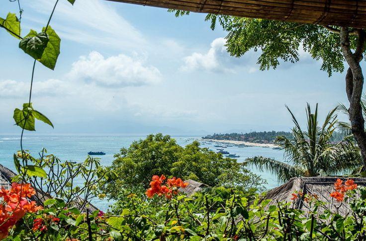 Villa Rama Sinta   2 bedrooms   Nusa Lembongan, Bali #swimmingpool #villa #bali #nusalembongan #ocean #mountain #view