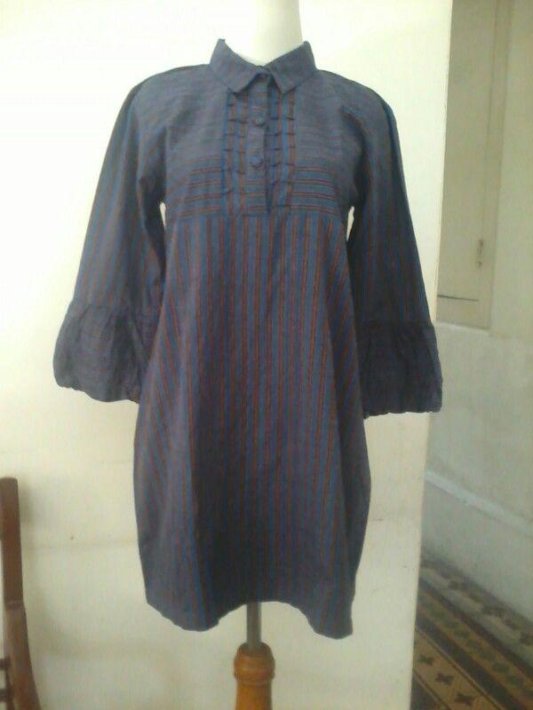 Batik lurik, tunic, size M/L, direct wa 08812775835