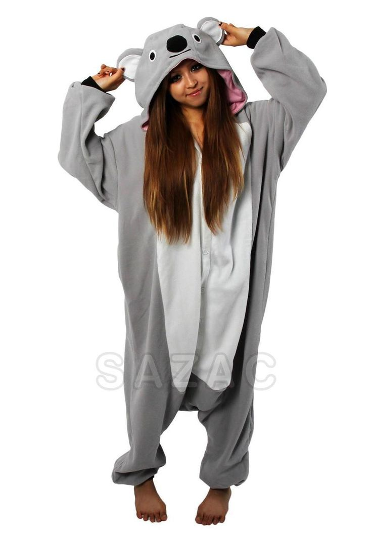 Koala Onesie, Costume Pajamas, Animal Onesies