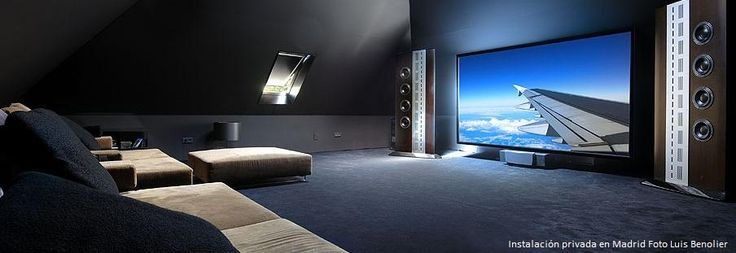 67 best images about movie room on pinterest home theater projectors theater and movie theater - Salon home cinema ...