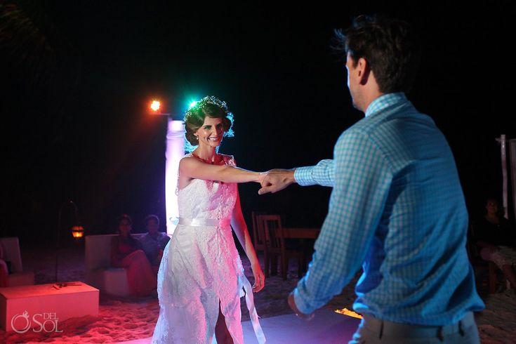 Tulum Wedding at Akiin Beach Club - Michelle and William