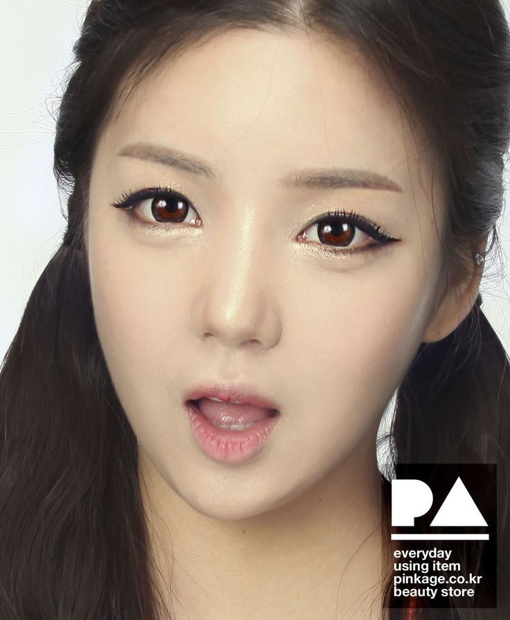 [GLAM EYE] LUNA BROWN - COLOR CONTACT CIRCLE LENS [NON PRESCRIPTION LENSES] No.dr018