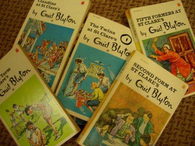 I loved Enid Blytons - St Claire's series.