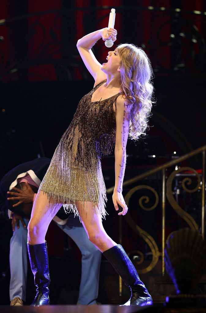 Taylor Swift performs live on stage at the The Burswood Dome on March 2, 2012 in Perth, Australia. (March 1, 2012 - Source: Paul Kane/Getty Images AsiaPac)