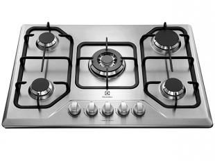 Cooktop 5 Bocas Electrolux a Gás - GT75X Tripla Chama e Superautomático Inox