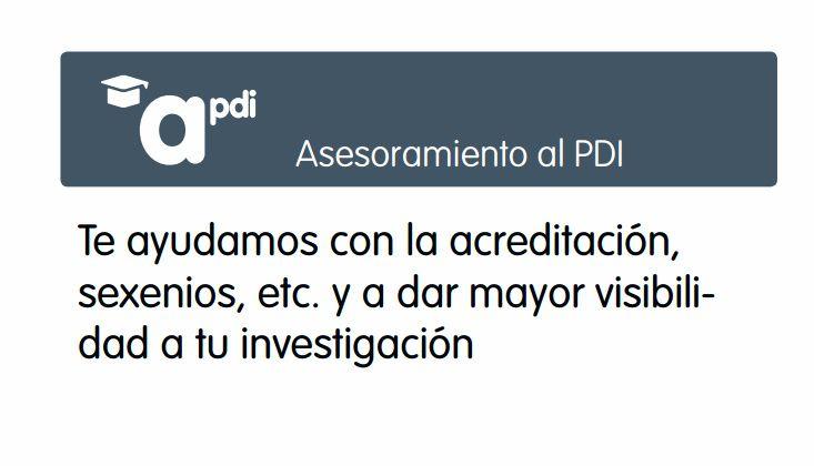 ASESORAMIENTO Al PDI. Recursos para el PDI (http://www.bbtk.ull.es/view/institucional/bbtk/PDI/es)