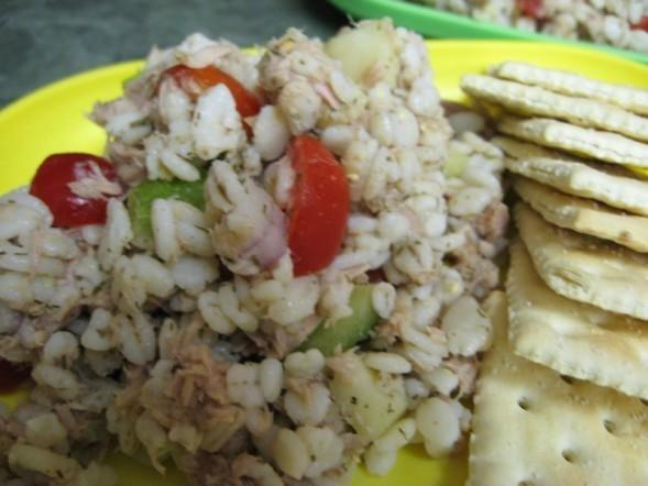 Barley and Tuna Salad With Lemon and Dill | Recipe