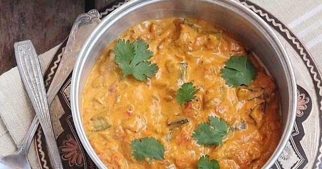 Un petit interlude après ces derniers articles bien sucrés avec ce curry d'aubergine grillée. Un plat bien épicé aux saveurs typiquement ...
