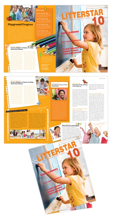 35 best images about school marketing on pinterest for Elementary school brochure template