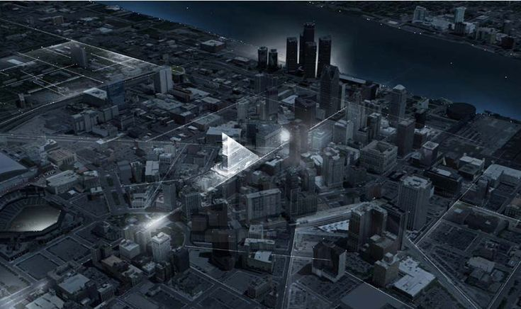 redesigning detroit: a new landmark by rossetti + metrogramma