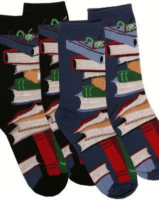 Book Socks Galore | Community Post: 16 Gifts For Your Favorite Book Lover Under $26 Each