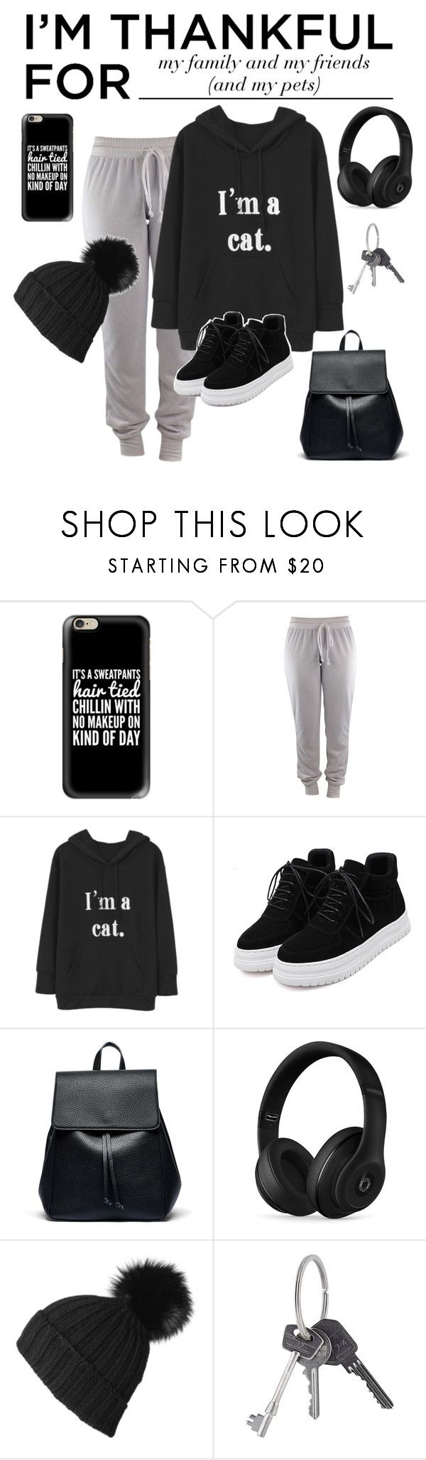 """""""My Family, my friends and my pets."""" by wolvestyle ❤ liked on Polyvore featuring Casetify, Sole Society, Beats by Dr. Dre, Black, Givenchy and imthankfulfor"""