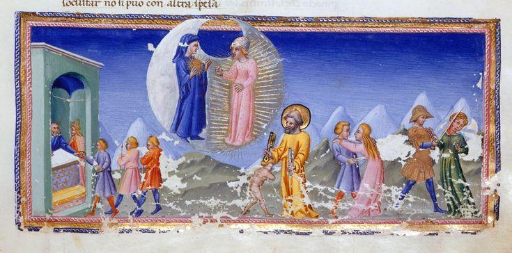 Four episodes - Dante Alighieri Title Divina Commedia Origin Italy, N. (Tuscany, Siena?) Date between 1444 and c. 1450 Language Italian http://www.bl.uk/catalogues/illuminatedmanuscripts/record.asp?MSID=6468&CollID=58&NStart=36