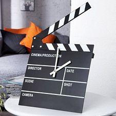 Ρολόι - Κλακέτα σκηνοθέτη