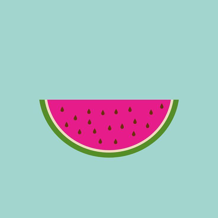 234 best Watermelon Illustration ♥ Affiche thème Pastèque images ...