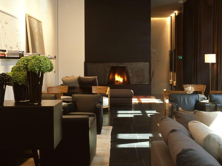 Bvlgari Milan Hotel | architetto Antonio Citterio  Partners | Lusso | Decorazioni  http://www.spazidilusso.it/gioiello-di-milano-bulgari-hotel/