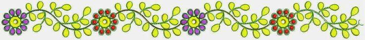 Rooi en pers kleur blomme Welly ontwerp Kant grens