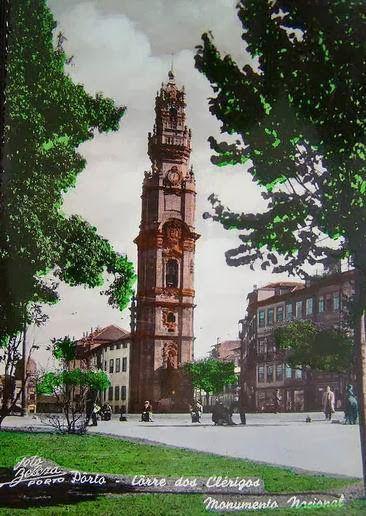 Torre dos Clérigos em 1950 www.webook.pt #webookporto #porto #vintage
